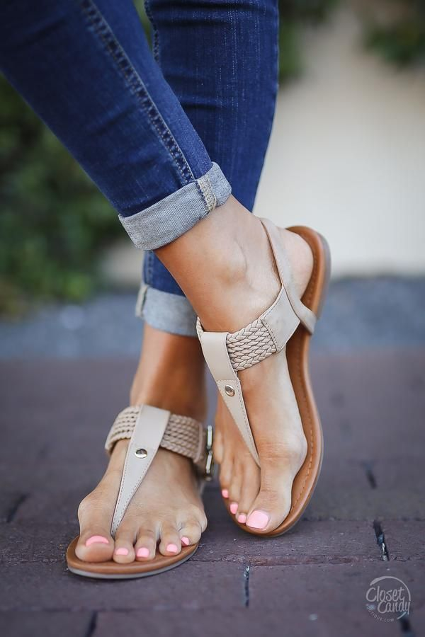The perfect little neutral sandal for all of your dresses, jeans, shorts, and tops! MIA brand sandal with braided straps and an adjustable ankle strap. Man-made materials. *Fit is true to size.