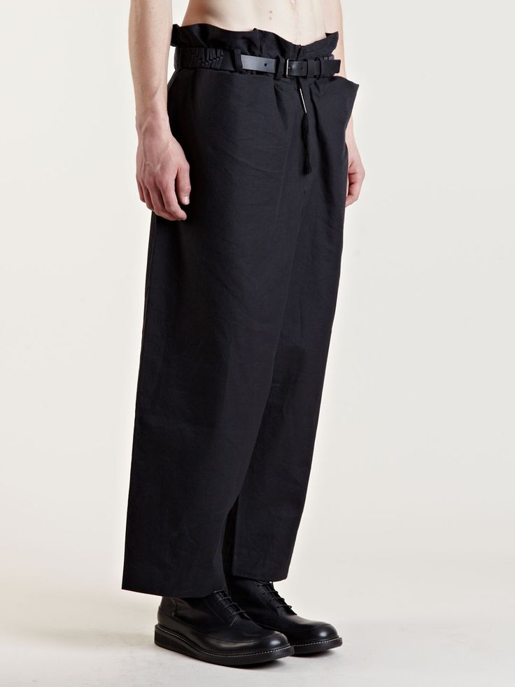 Visions of the Future: Damir Doma Archive Wide Leg Pants