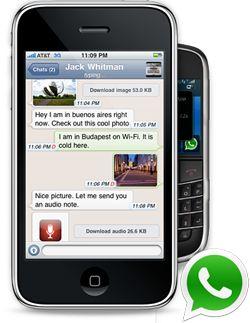 Bienvenido a Whatsappplus.mobi, desde esta web podras descargar de forma gratuita la mas famosa aplicacion de mensajeria WhatsaApp. Descargate Whatsapp Gratis y disfruta de la comunicación para Android, iPhone, Windows Mobile, BlackBerry, Nokia, etc...y olvídate de los SMS de pago! http://whatsappplus.mobi/