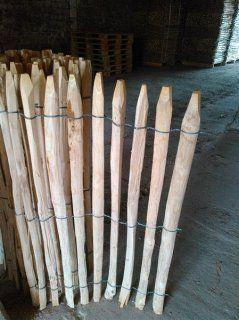 Proline Staketenzaun Kastanie Lattabstand 2-4cm 5m 175cm