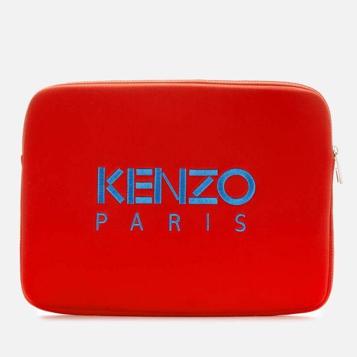 KENZO Women's Laptop Pouch – Medium Red