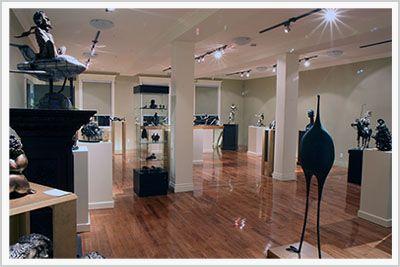 Atelier Du Bronze Galerie d'art Denis Gagnon Inverness, Québec