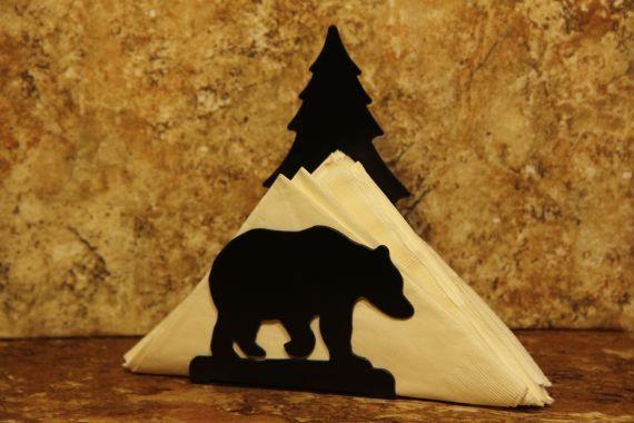 Bear Tree Napkin Holder Bear Tree Letter Holder by SweeneyRidge