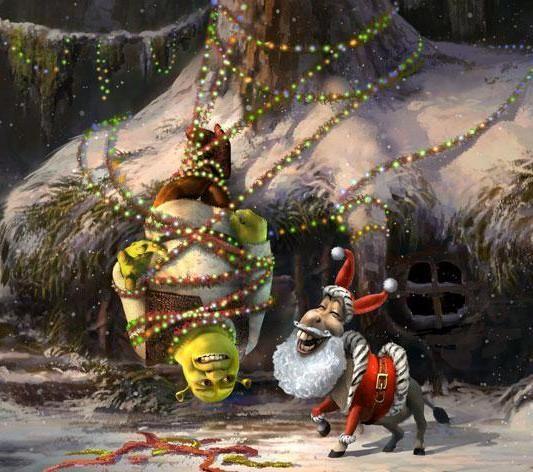 Shrek : The Halls / Joyeux Noël Shrek !