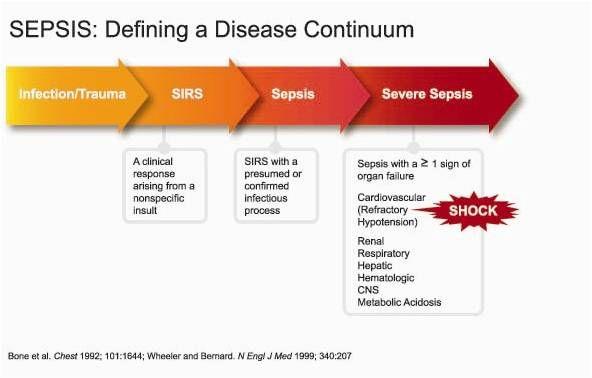 Sepsis disease continuum