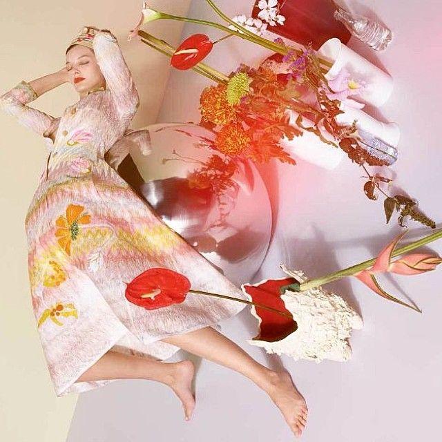 Amanda Murphy poses for Missoni Summer 2015 Ad Campaign