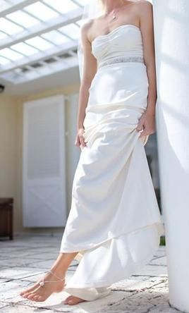 Nicole Miller wedding dress currently for sale at 67% off retail.
