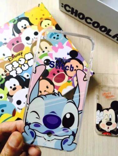 Coque-Apple-Iphone-6S-6-Smack-Disney-Stitch-Minnie-Winnie-lourson-Donald