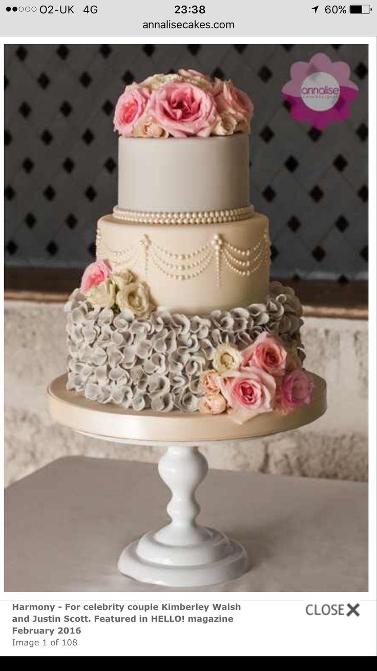 Wedding cake Annalise Barbados