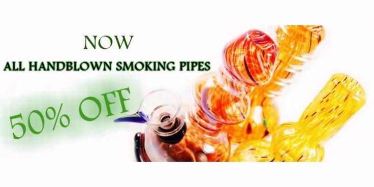 Handblown Glass Pipes Sale