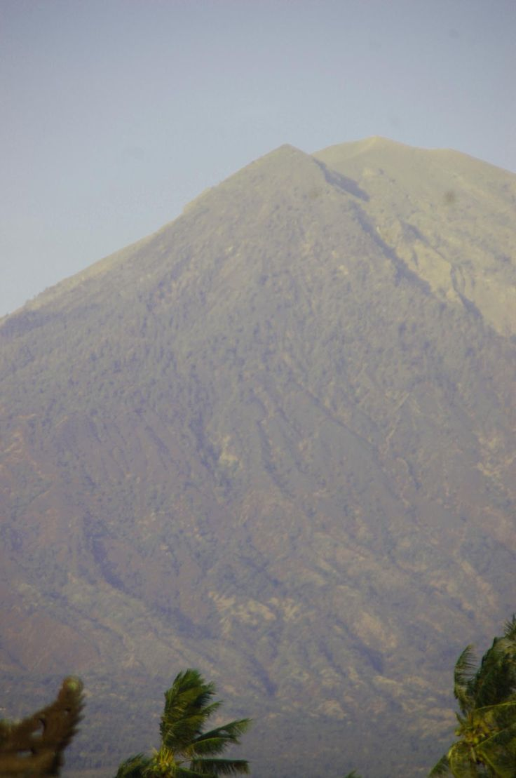 View on Mount Agung from Amed, Bali Karangasem