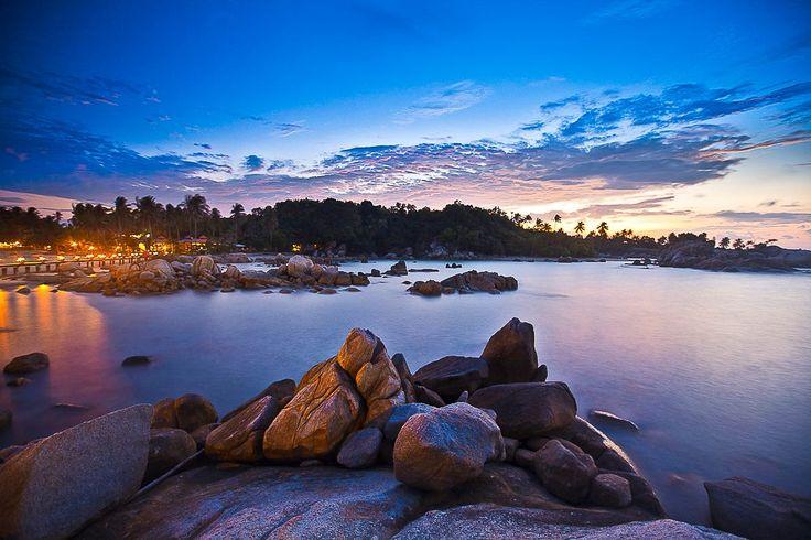 Parai Beach, A Stone