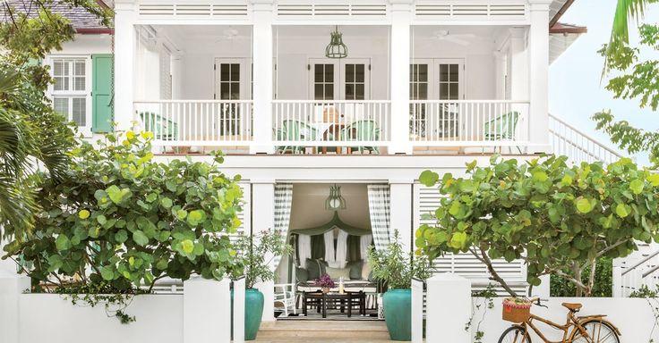 Although hey are talking about Bahamas,  many great pointers! 南国風と言ってもこの記事ではバハマに言及していますが、ハワイ風の飾り付けに良いアドバイスが書いてあります。