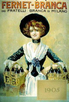 Fernet Branca on Pinterest | Vintage Posters, Advertising Poster ...