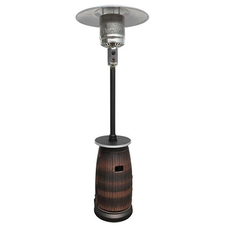 Sunmaster Wicker Propane Patio Heater   WoodlandDirect.com: Propane Patio Heaters