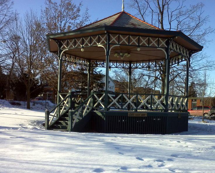 The Gore Park Gazebo ~ Elmira, ON