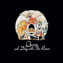 """A Day at The Races by Queen: ✯✯✯✯ I always had a hard time not comparing this to A Night at The Opera for what are probably obvious reasons, but it wasn't long before the songs """"Somebody to Love"""", """"Good Old Fashioned Lover Boy"""" and """"The Millionaire Waltz"""" sealed the deal, making it an all time fave."""