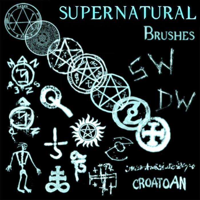 Supernatural Tv Show Symbols Evanescence In Supernatural By