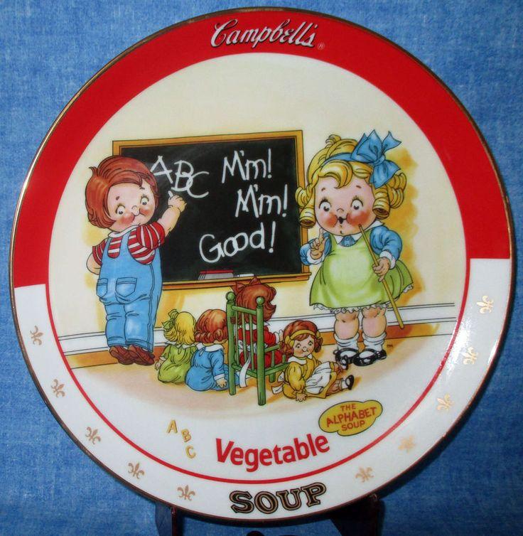 Campbell's Soup Kids Danbury Mint VEGETABLE SOUP 1994