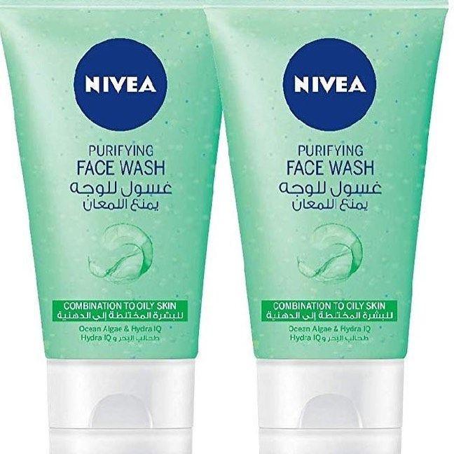 برأيي أفضل غسولات العناية بالبشرة المختلطة Nivea Face Wash فيه حبيبات دقيقة تعمل على تقليل عيوب البشرة Beauty Skin Care Routine Beauty Skin Care Beauty Skin