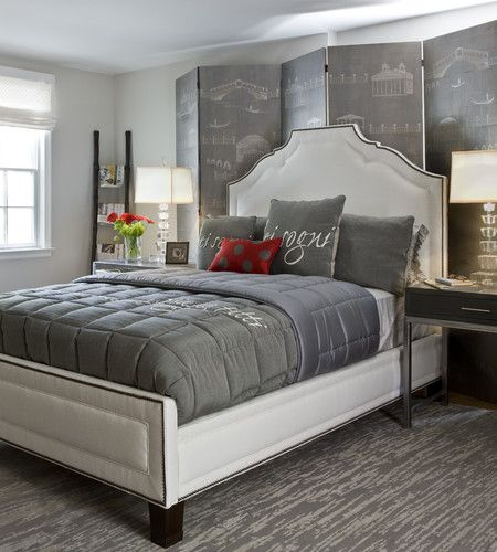 Bedroom Contemporary Bedroom Dc Metro Danziger Design Llc
