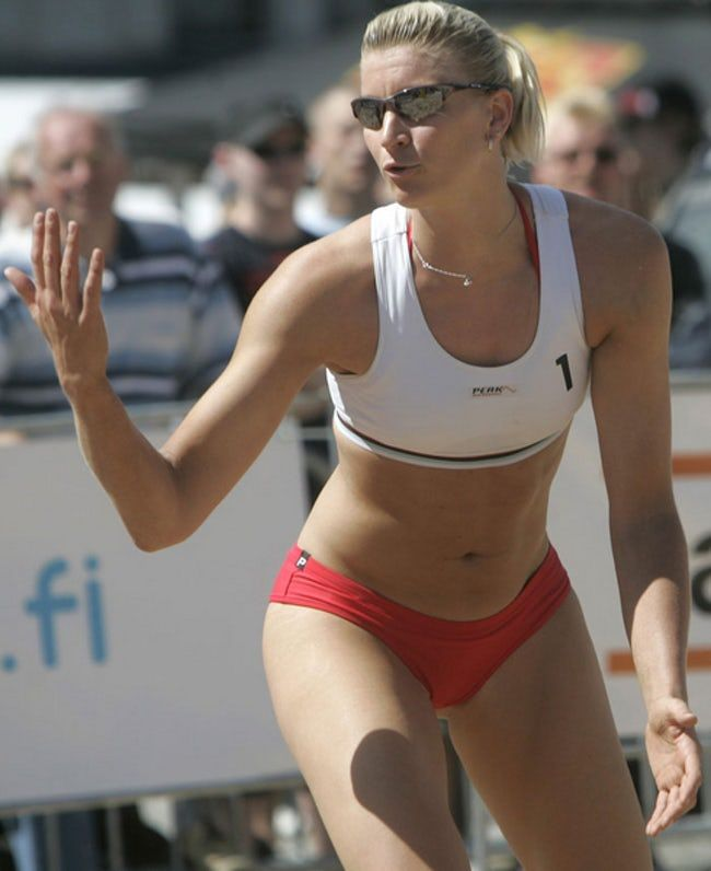 Riikka Lehtonen is listed (or ranked) 31 on the list The Most Stunning Female Volleyball Players
