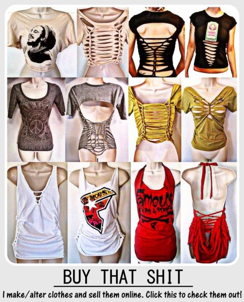 Cool ways to cut t shirts
