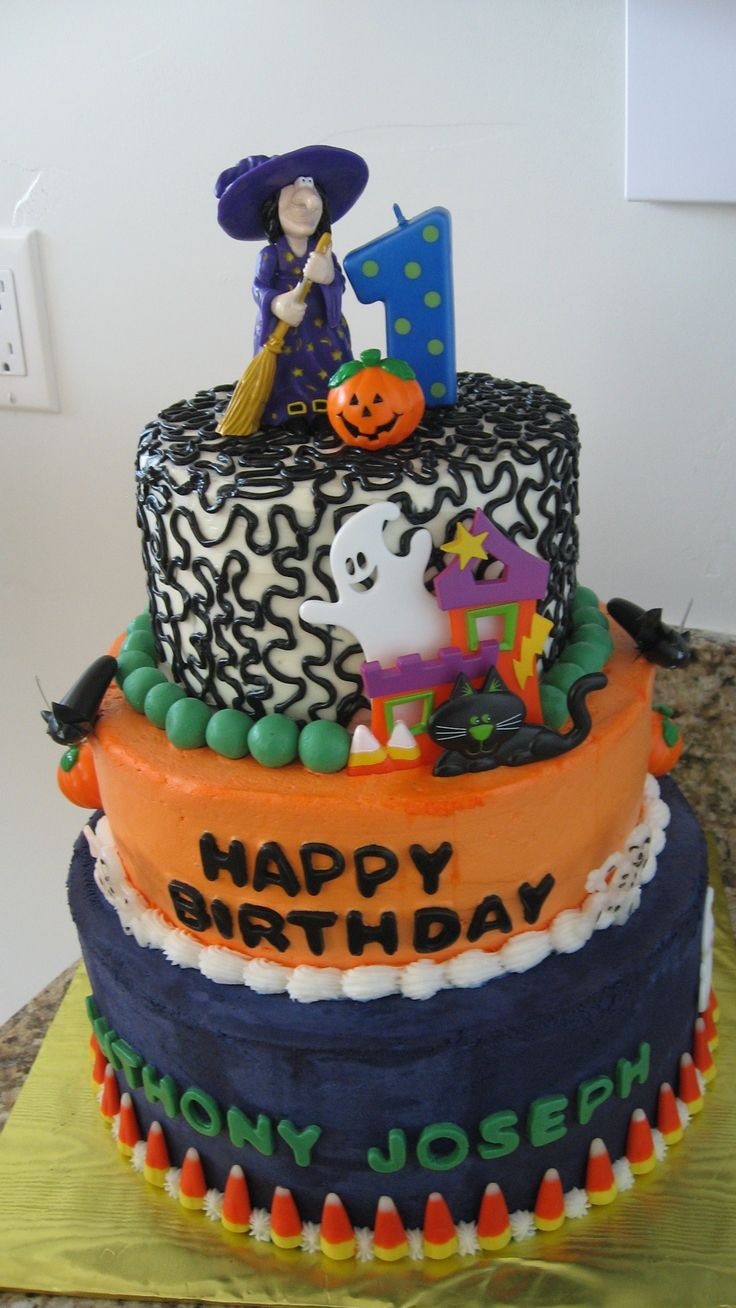 Halloween Birthday Cakes Cakes For Kids And Party Ideas