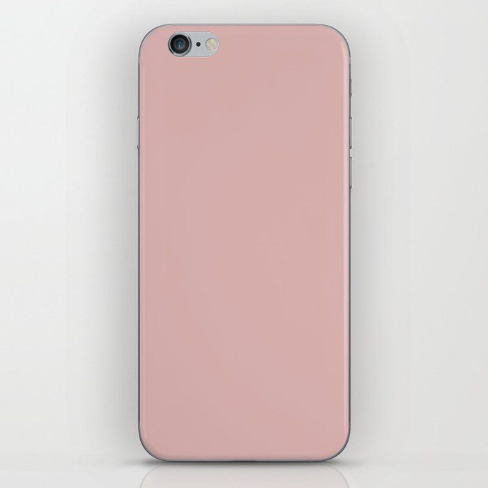 Silver Pink Pantone 14 1508 Tpx Iphone Skin Iphone Skins Pink Iphone Iphone