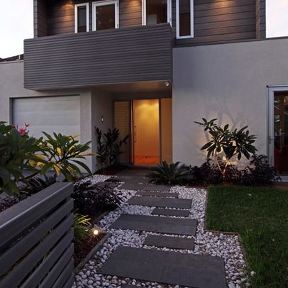 Concrete slab path design ideas pictures remodel and decor page 15 landscape pinterest - Slab pathway design ideas ...