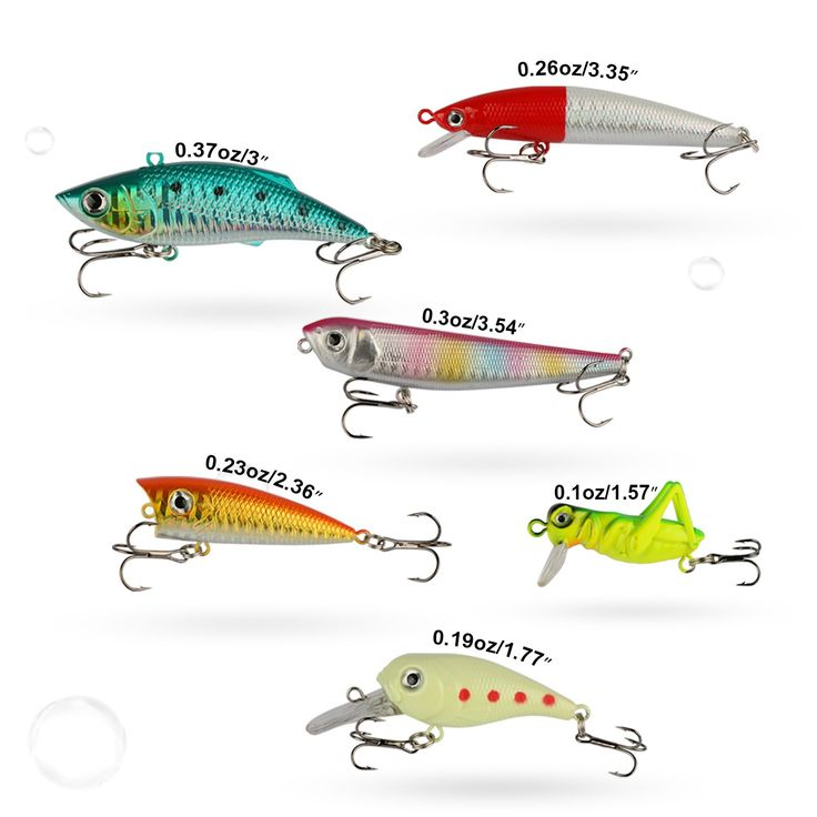 101PCS Fishing Lure Set Kit Soft /&Hard Lure Baits Tackle Freshwater Box Full Set