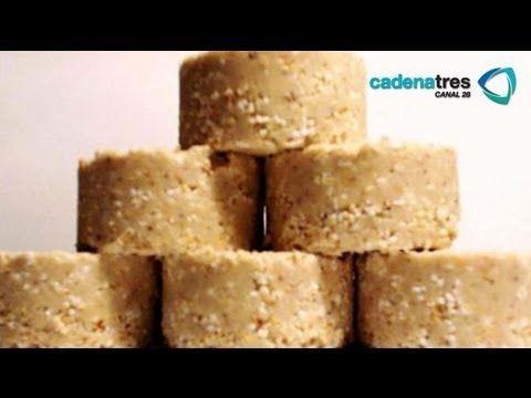 Receta para preparar mazapanes de cacahuate tradicionales. Receta de mazapanes - YouTube