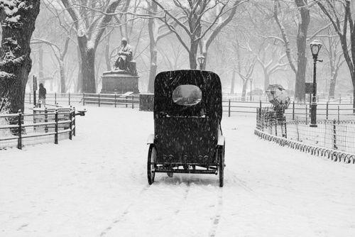 winter: Picture, Vintage Photos, Snow, Winter Wonderland, Vintage Postcards Photos, Old Cars, Central Park, Black, Photography