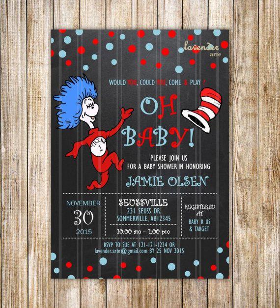 25+ Best Ideas About Dr Seuss Baby Shower On Pinterest
