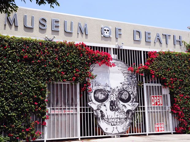 Looking to satisfy your morbid curiosity? Step inside the Museum of Death, a seriously freaky institution that offers an unflinching glimpse at dying.