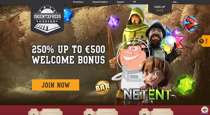 OrientXpress Casino´s Welcome Package includes:  Bonus: 250% welcome bonus The 250% bonus is available up to the value of 500 euros. If you deposit 50 euros you receive a bonus of 125 euros then your total balace will be 175 euros.