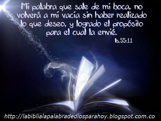 La Biblia La Palabra De Dios Para Hoy: Lectura diaria de la palabra de Dios-El pan diario...