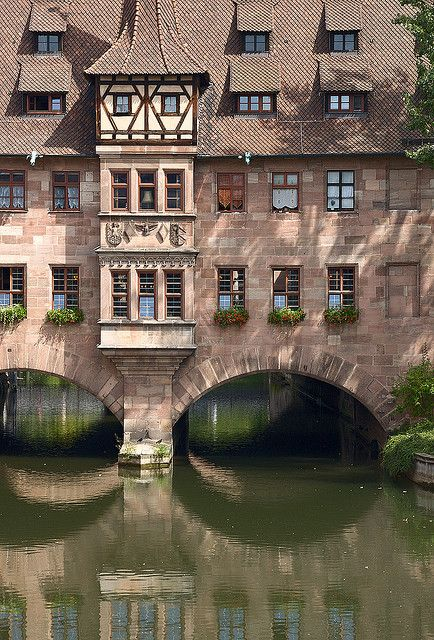 The Hospital of the Holy Spirit ~ Nürnberg Germany - It's now a resturant