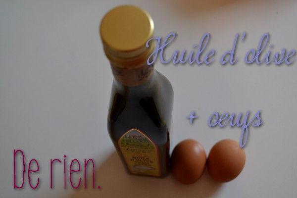 Blog beauté : What a Girl Wants: Le masque pour cheveux huile d'olive + œufs pour les nulles