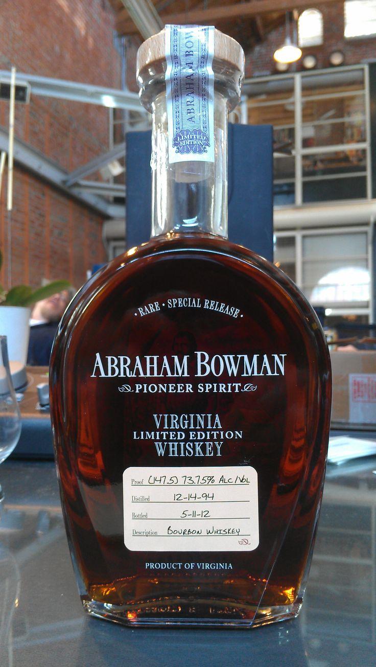 Abraham Bowman 2012 Limited Edition Bourbon Whiskey
