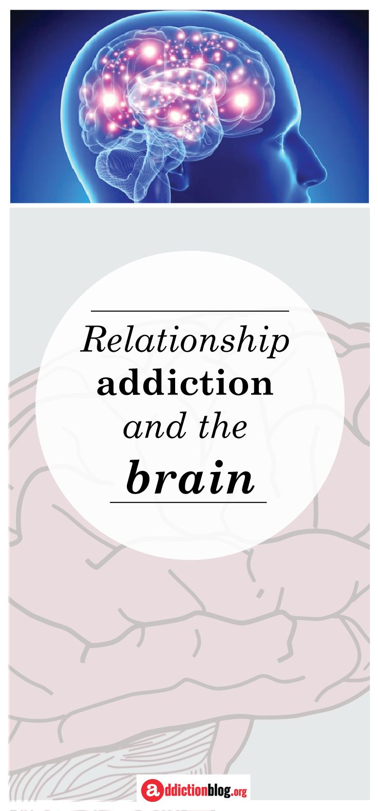 """Relationship addiction is one of many behavioral addictions. Drug addiction is formed in the brain's reward center when substances stimulate the release of dopamine and we feel good. Similarly, the brain can become trained to release dopamine at the pleasure received from activities such as shopping or gambling. Here, we explain more about the formation of behavioral and relationship #addiction. Explore and grow! """"a"""" is for Addiction Blog"""