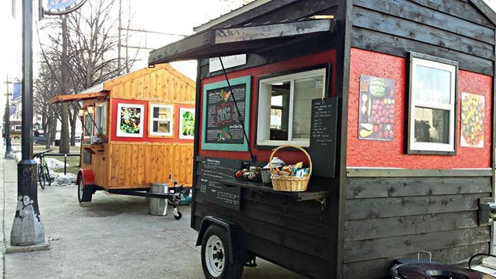Custom Food Carts by Caged Crow #foodconcessiontrailers #foodcart #restaurant #mobilecuisine Food cart ideas, Custom food truck manufacturer