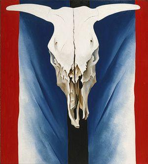 Georgia O'Keeffe: Cow's Skull: Red, White, and Blue (52.203) | Heilbrunn Timeline of Art History | The Metropolitan Museum of Art