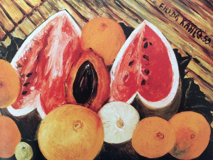 Up close // Inside // Frida Kahol's Garden