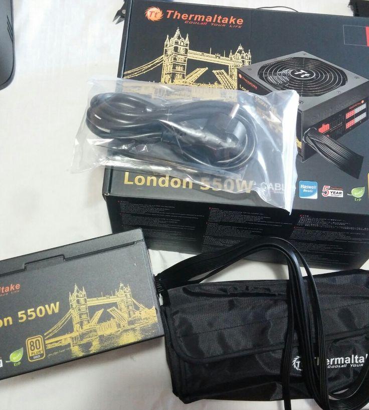 550Watt Thermaltake London Mod 80+ Gold  https://www.facebook.com/PCWhisperer.gr