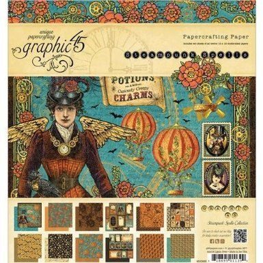 Goth Shopaholic: Steampunk Scrapbooking Papers