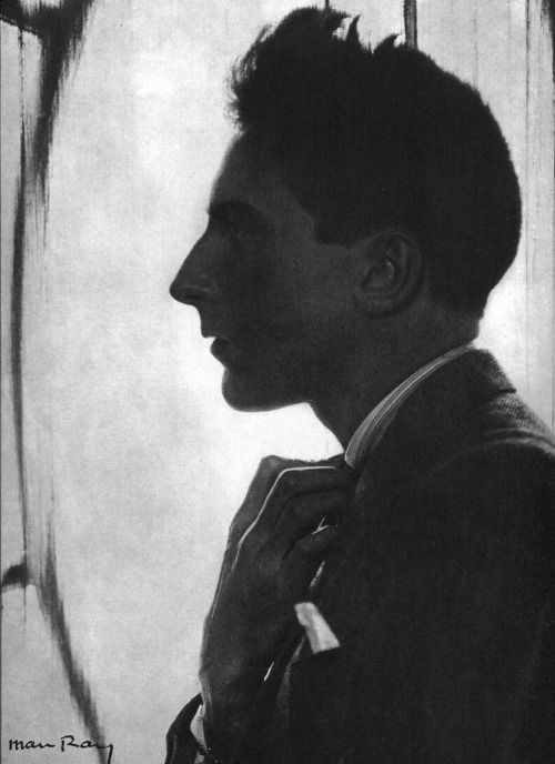 Jean Cocteau by Man Ray, 1960. Jean Cocteau was a French writer, designer, playwright, artist and filmmaker.