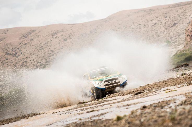 No Dakar, Equipe Mitsubishi Petrobras enfrenta a altitude e a neve para chegar à Bolívia
