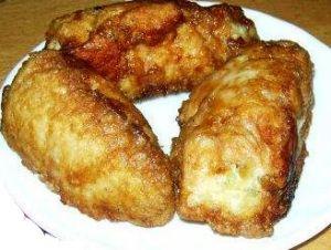 Куриные бедрышки, фаршированные картофелем