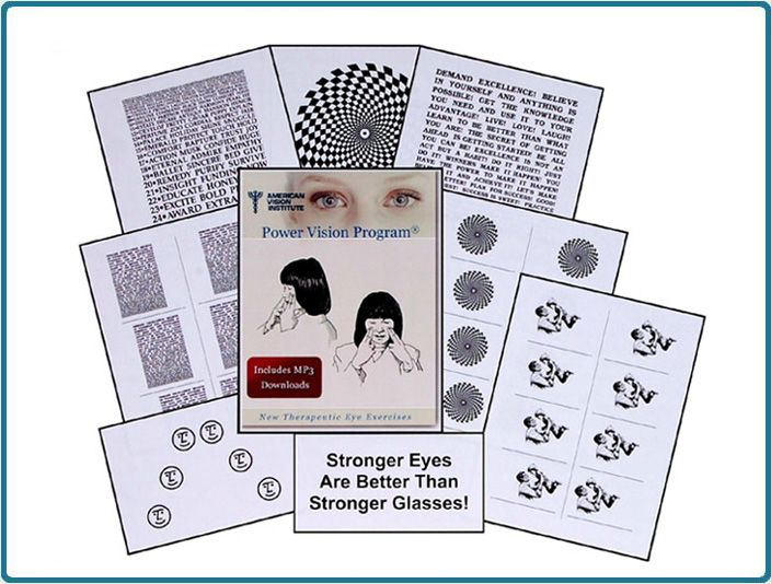 eye exercises to improve vision pdf